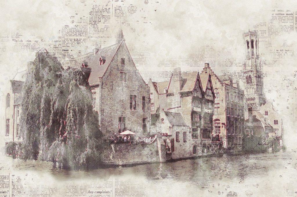 belfry-3204592 鐘楼 タワー ブルージュ 運河 チャネル ロマンチック 歴史的 興味の場所 旧市街