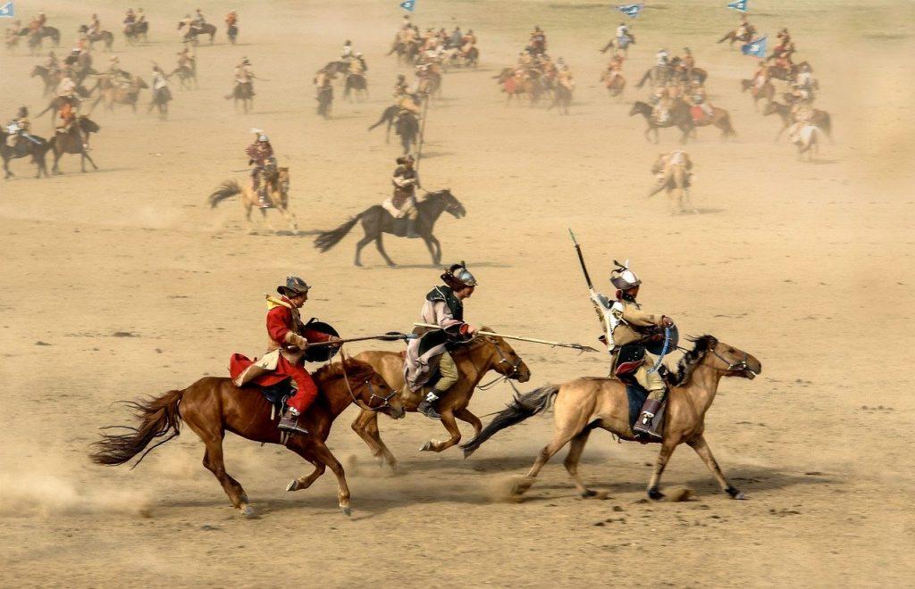 horse-1567608 馬 モンゴル国 戦士 戦争 戦い フィールド